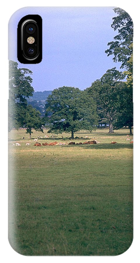 Great Britain IPhone X Case featuring the photograph Pasture by Flavia Westerwelle