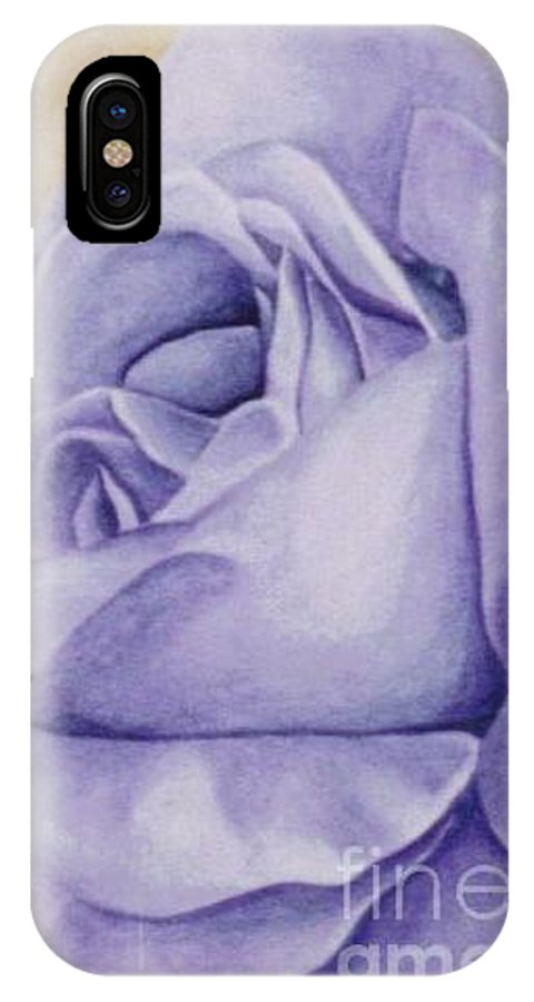 Rose IPhone Case featuring the painting Peace by Emily Young