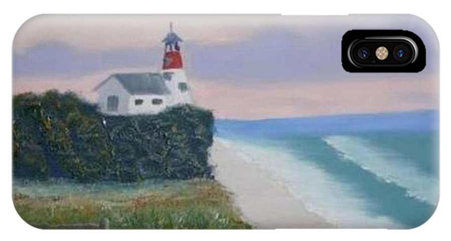 Seascape IPhone Case featuring the painting Peace Sold by R B