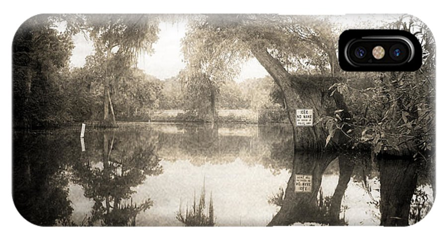Water IPhone X Case featuring the photograph Peaceful Evening by Scott Pellegrin
