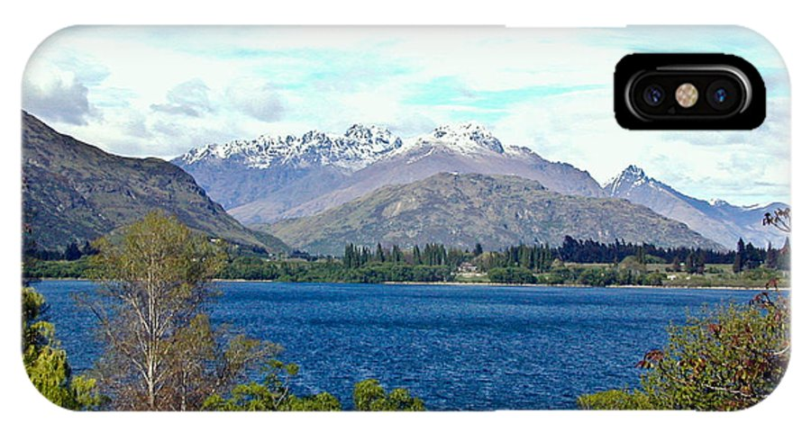 Lake IPhone Case featuring the photograph Peaceful Lake -- New Zealand by Douglas Barnett