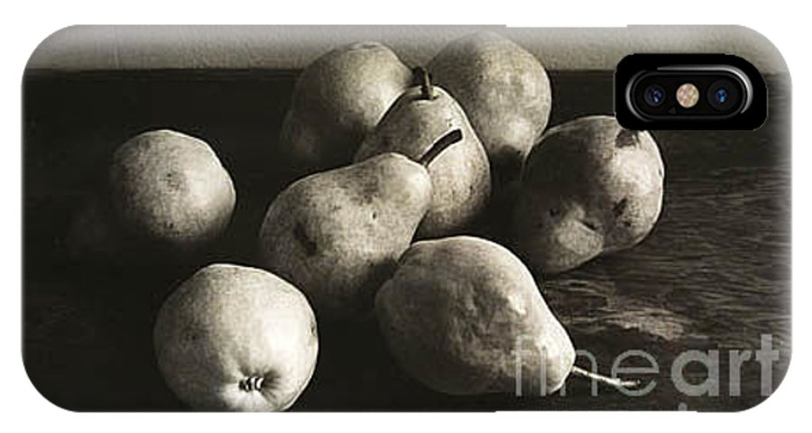 Pears IPhone Case featuring the photograph Pears by Michael Ziegler