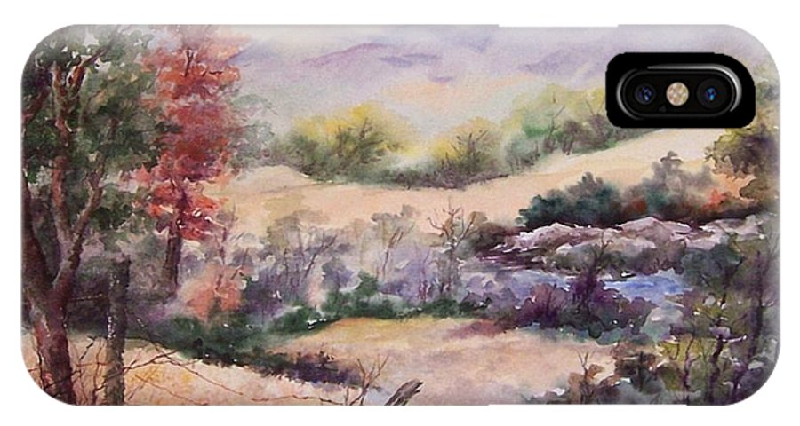 Fall IPhone Case featuring the painting Pee Dee Creek by Virginia Potter
