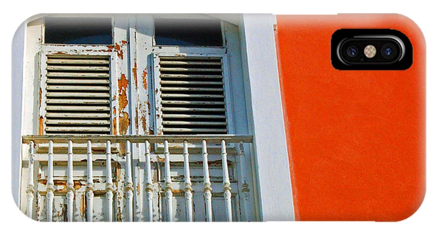 Shutters IPhone X Case featuring the photograph Peel An Orange by Debbi Granruth