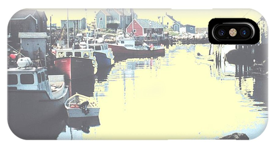 Nova Scotia IPhone X Case featuring the photograph Peggy by Ian MacDonald