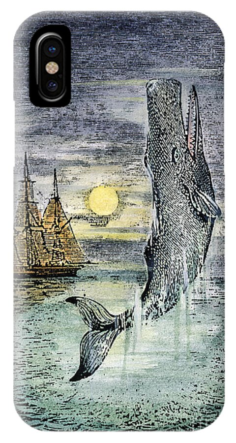 19th Century IPhone X Case featuring the photograph Pehe Nu-e: Moby Dick by Granger