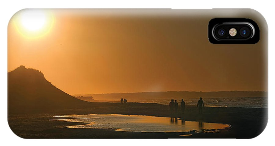 Prince Edward Island IPhone X Case featuring the photograph Pei Cavendish Beach Sunset by Steve Somerville