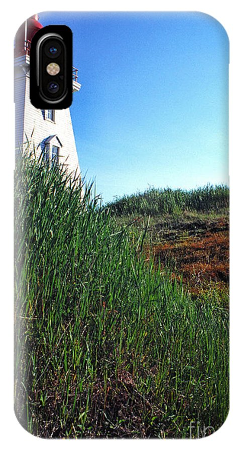 Souris Lightstation IPhone X Case featuring the photograph Pei Lightstation by Thomas R Fletcher