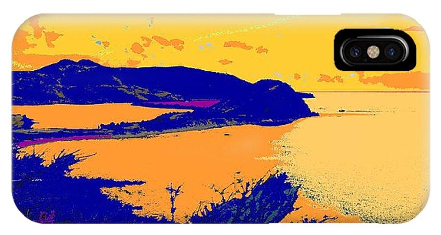 St Kitts IPhone Case featuring the photograph Peninsula Orange by Ian MacDonald