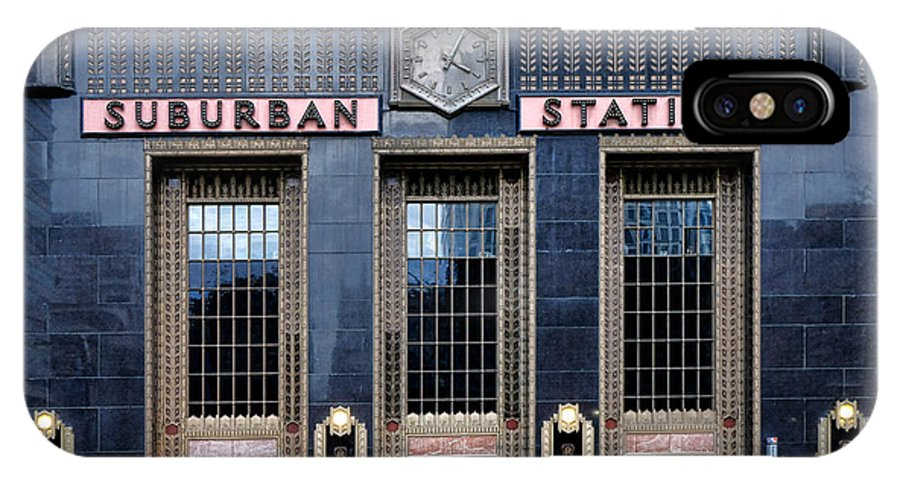 Pennsylvania IPhone X Case featuring the photograph Pennsylvania Railroad Suburban Station by Olivier Le Queinec