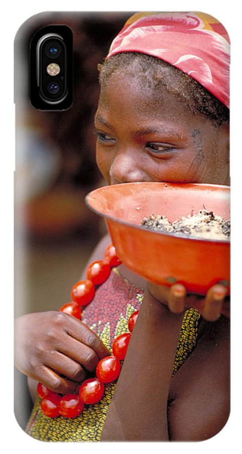 Amber IPhone Case featuring the photograph Perfect Balance In Niger by Carl Purcell