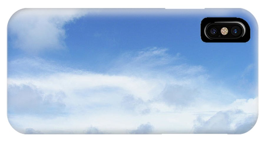 Blue IPhone X Case featuring the photograph Perfect Day by JAMART Photography