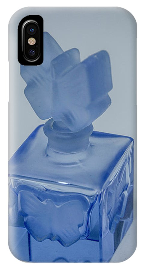 Perfume Bottle IPhone X Case featuring the photograph Perfume Bottle Collection_4 by David Taylor