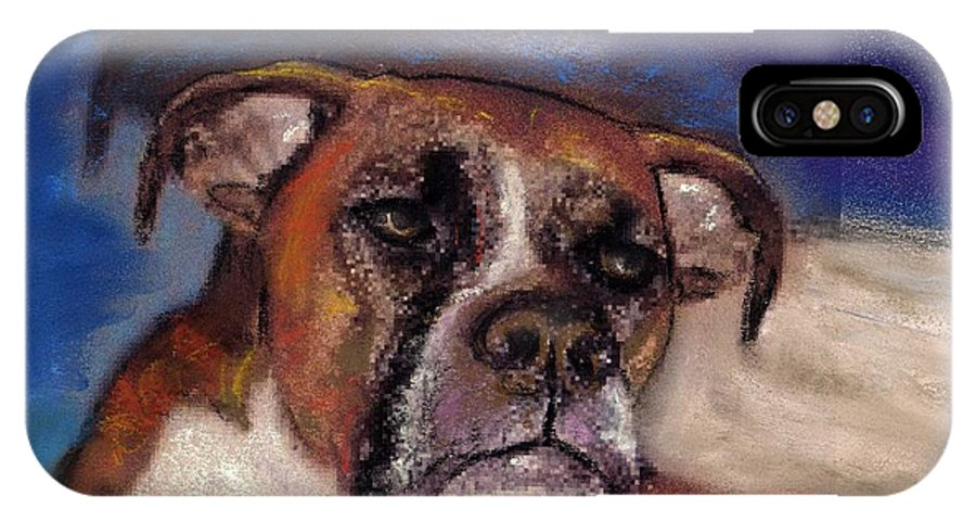 Pastel Pet Portraits IPhone Case featuring the painting Pet Portraits by Darla Joy Johnson