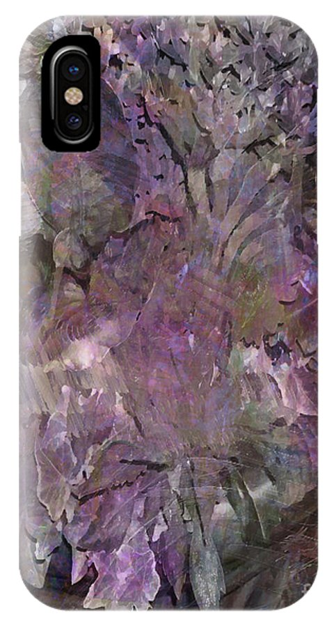 Petal To The Metal IPhone X Case featuring the digital art Petal To The Metal by John Beck