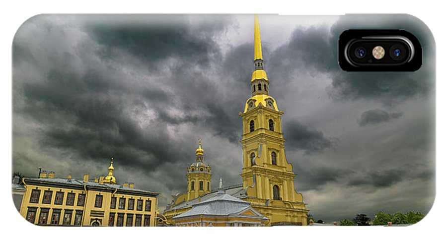 Peter And Paul Fortress IPhone X Case featuring the photograph Peter And Paul Fortress by Ronny Urban