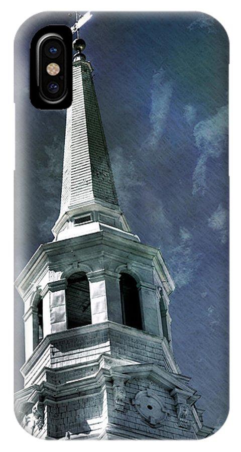 Philadelphia IPhone X Case featuring the photograph Philadelphia Christ Church by Scott Wyatt