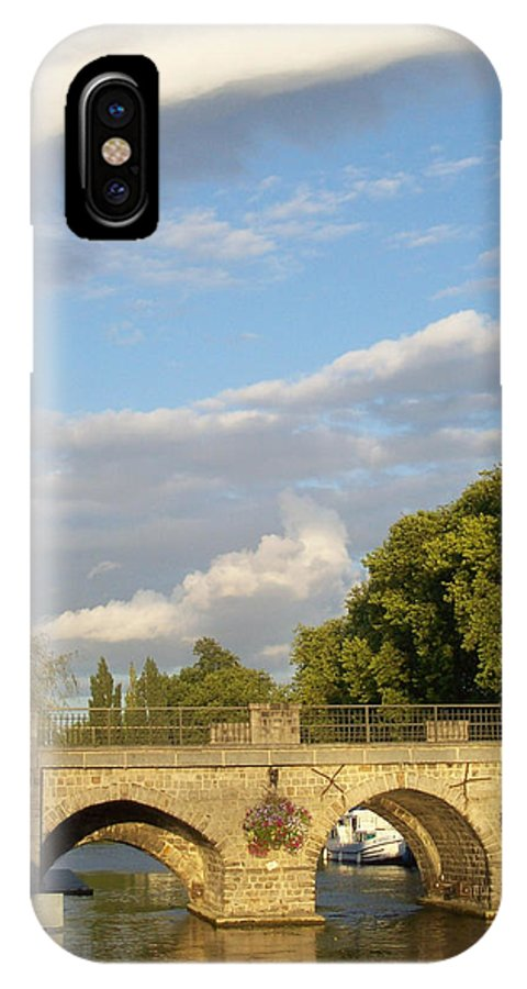 Picturesque IPhone X Case featuring the photograph Picturesque by Mary Mikawoz