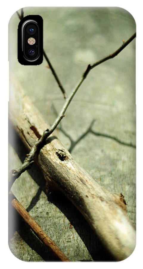 Tree Close-up IPhone X Case featuring the photograph Piercing Body And Soul by Rebecca Sherman