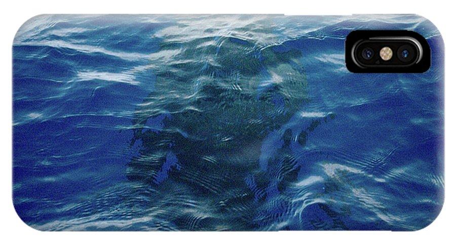 Valasretki IPhone X Case featuring the photograph Pilot Whale 9 The Mermaid by Jouko Lehto