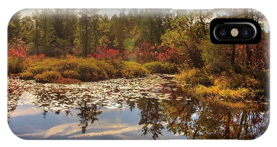 Recent IPhone X Case featuring the photograph Pine Barrens New Jersey Whitesbog Nj by Geraldine Scull
