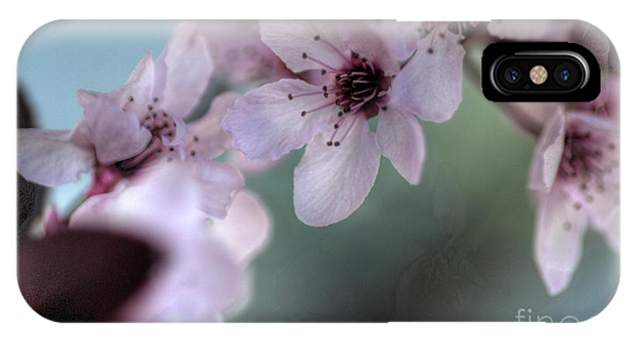 Pink IPhone X Case featuring the photograph Pink Blossoms by Jim And Emily Bush