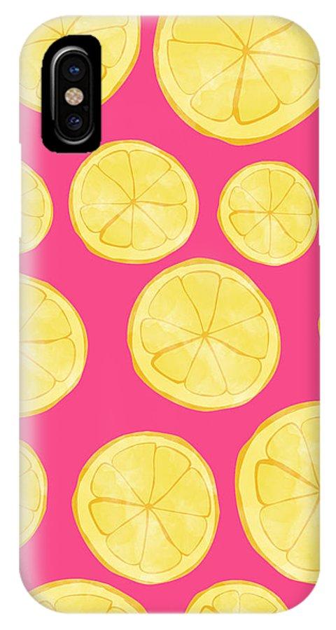 premium selection 1c7a8 3603c Pink Lemonade IPhone X Case