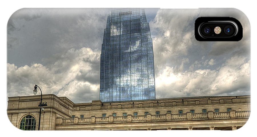 Nashville IPhone X Case featuring the photograph Pinnacle Of Success by Darin Williams