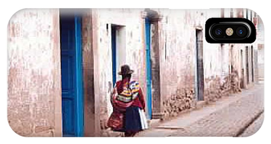 Peru IPhone Case featuring the photograph Pisaq Woman by Kathy Schumann