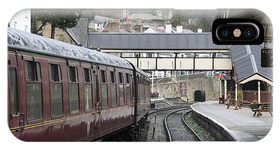 Trains IPhone Case featuring the photograph Platform 2 by Christopher Rowlands