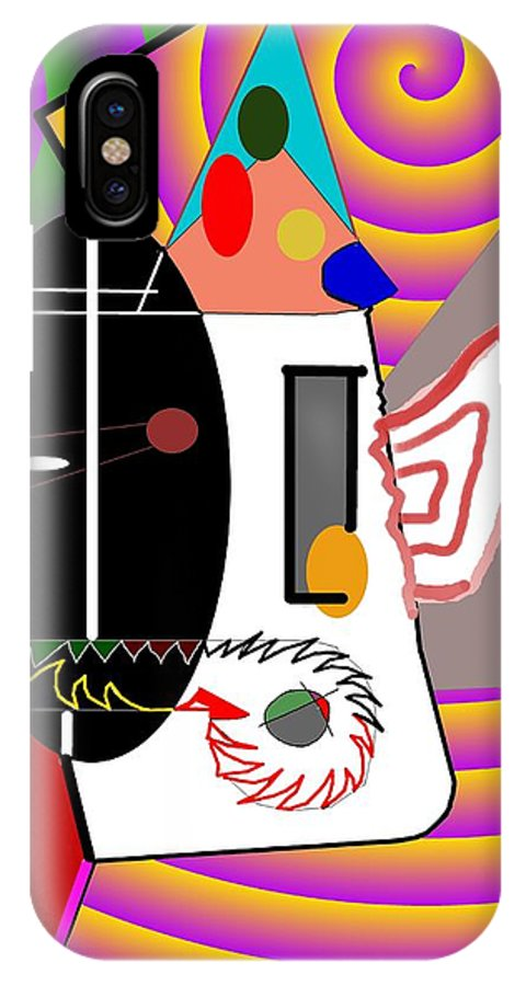 Politic IPhone Case featuring the digital art Politics by Helmut Rottler