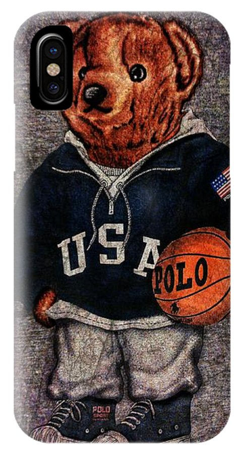 check out b37ce 3bf45 Polo Bear Sport IPhone X Case