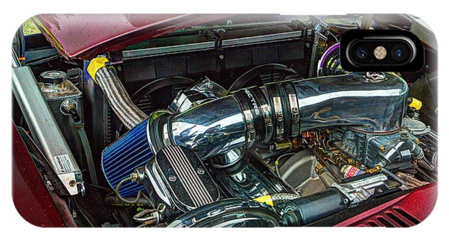 Pontiac IPhone X / XS Case featuring the photograph Pontiac Firebird 295 by Jeff Stallard