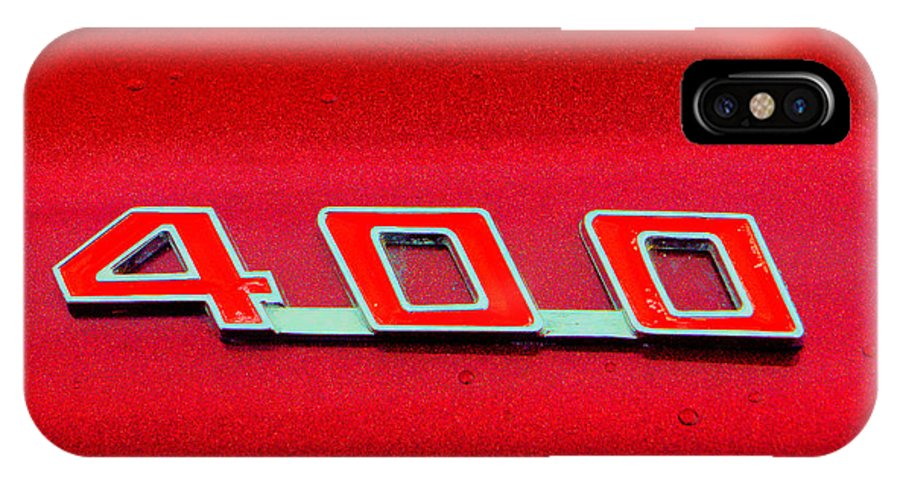 Pontiac IPhone X / XS Case featuring the photograph Pontiac Firebird 296 by Jeff Stallard