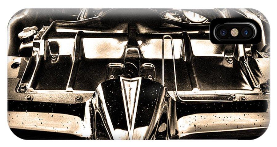 Pontiac IPhone X / XS Case featuring the photograph Pontiac Gto 028 by Jeff Stallard