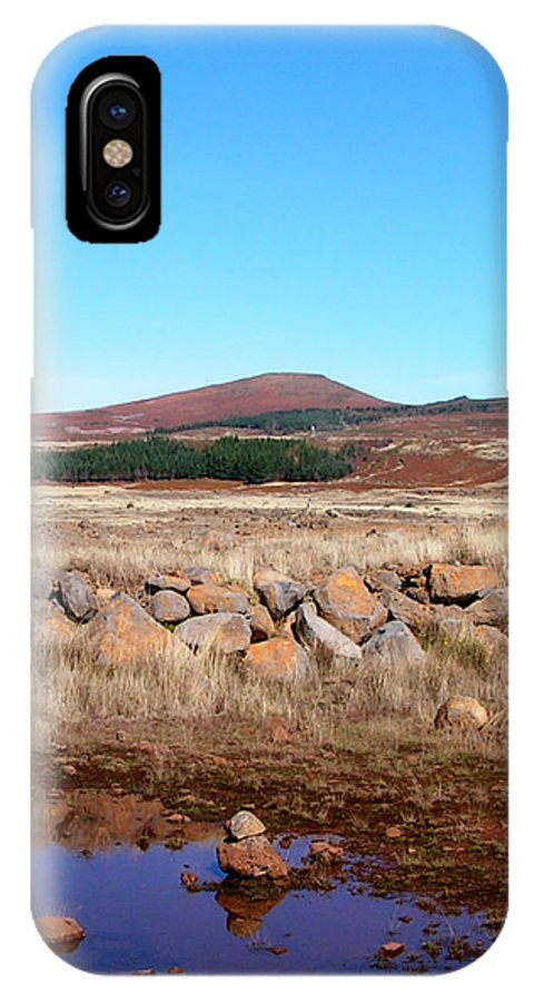 IPhone X Case featuring the photograph Pool by Alan Pickersgill