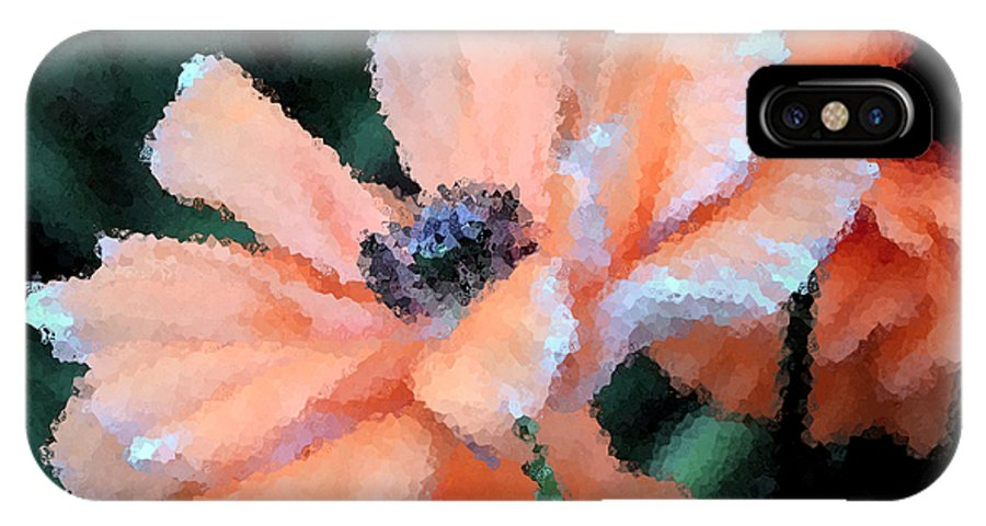 Papaver Somniferum. Opium IPhone X Case featuring the photograph Poppy Primadonna by Angelina Vick