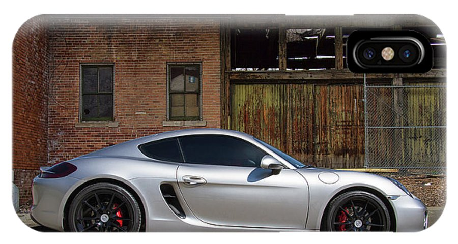 Porsche IPhone X Case featuring the photograph Porsche Need For Speed by Nick Gray