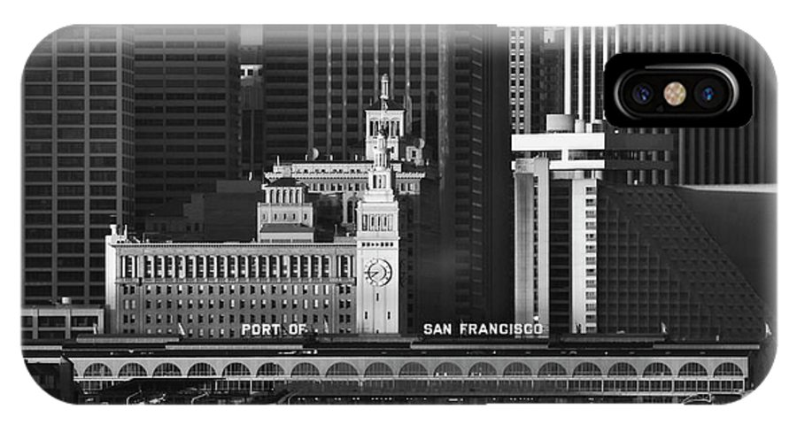 Port IPhone X Case featuring the photograph Port Of San Francisco by Mick Burkey