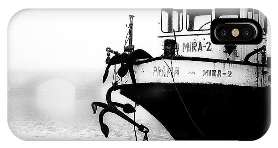 Prague IPhone X Case featuring the photograph Prague - Mira 2 by Noel Greene