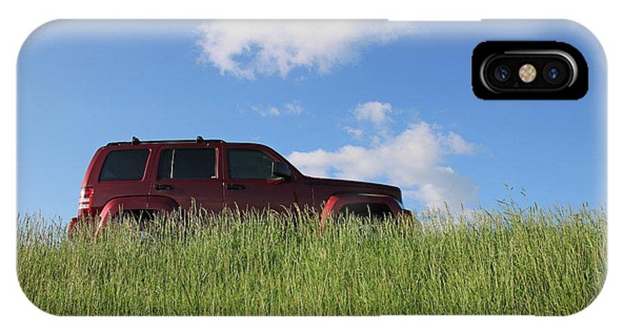 Truck IPhone X / XS Case featuring the photograph Prairie Schooner by Steve Gass