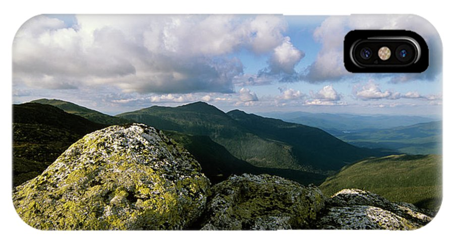 Hike IPhone X Case featuring the photograph Presidential Range - White Mountains New Hampshire by Erin Paul Donovan