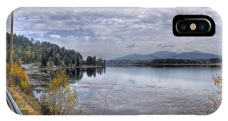 IPhone X Case featuring the photograph Priest River Panorama 8 by Lee Santa
