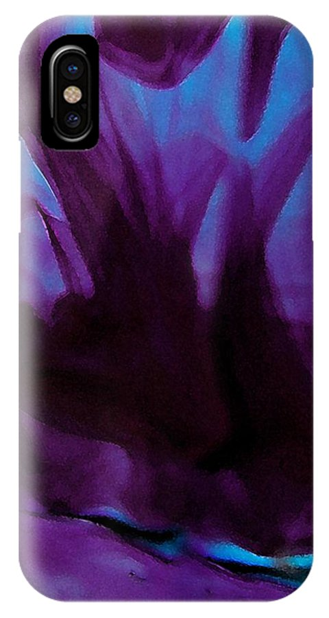 Art IPhone X Case featuring the digital art Prime Experience by Florene welebny