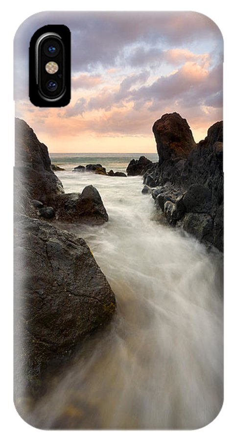 Sunrise IPhone Case featuring the photograph Primordial Tides by Mike Dawson