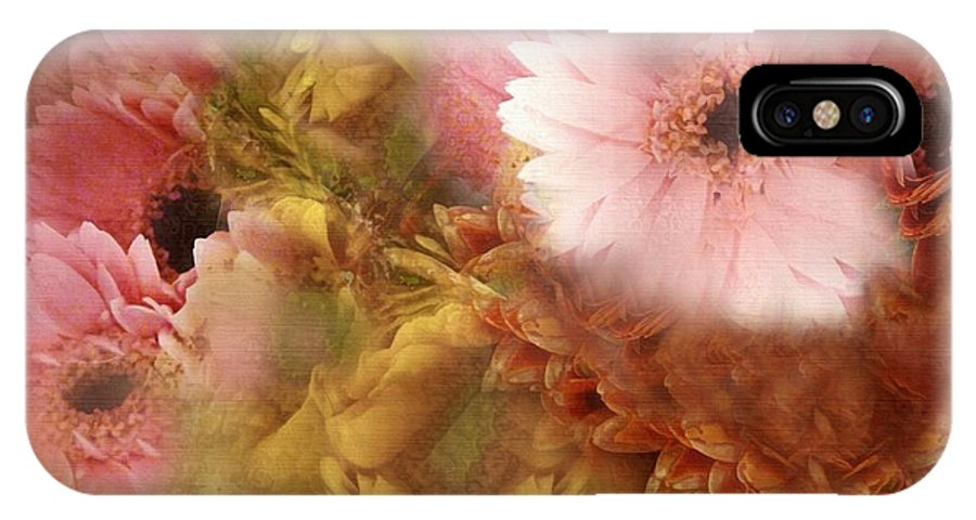 Dream IPhone X Case featuring the painting Promises And Dreams by RC DeWinter