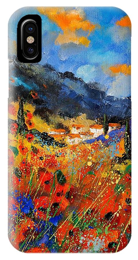 IPhone X Case featuring the painting Provence 459020 by Pol Ledent
