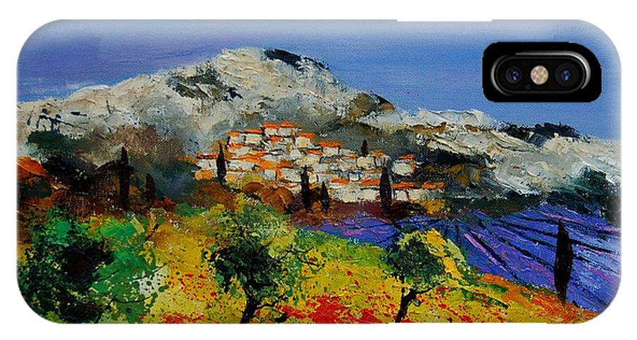 Provence IPhone Case featuring the painting Provence 569010 by Pol Ledent