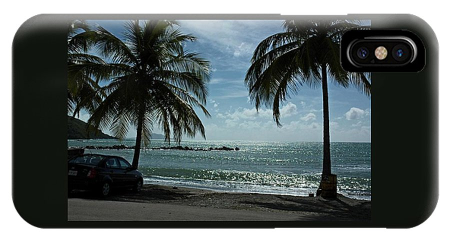 Landscape IPhone Case featuring the photograph Puerto Rican Beach by Tito Santiago