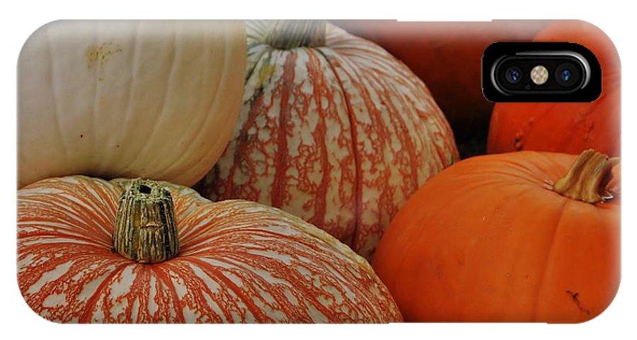 Pumpkin IPhone X Case featuring the photograph Pumpkin Colors by JAMART Photography